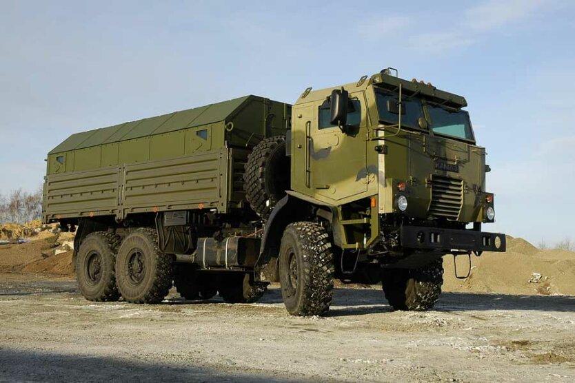 военный КАМАЗ