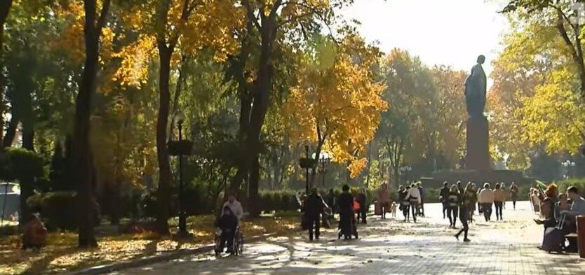Праздники в Украине, выходные, ноябрь