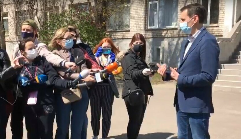 Ляшко попал в ДТП на Николаевщине: фото и видео