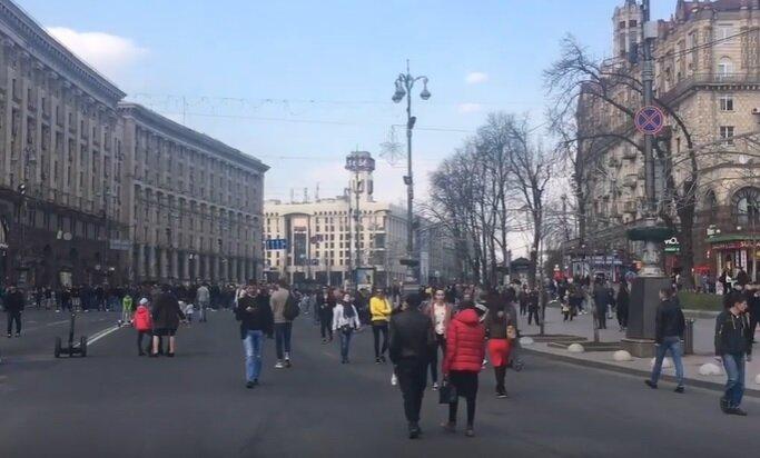 улица Крещатик, Киев