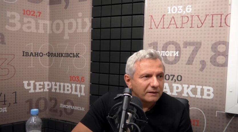 Олег Устенко, гривна, курс