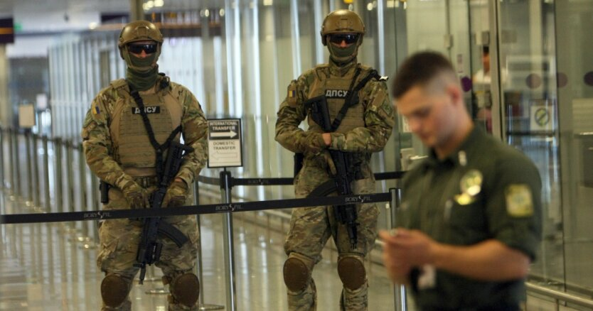 Госпогранслужба в аэропорту Борисполь