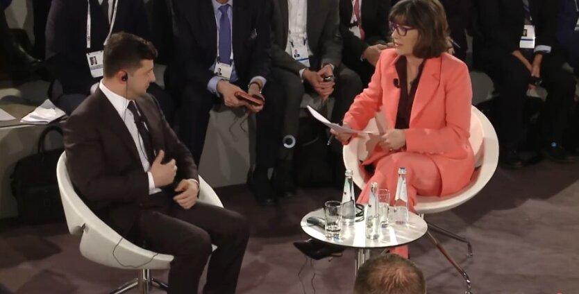 президент украины владимир зеленский на конференции по вопросам безопасности в мюнхене