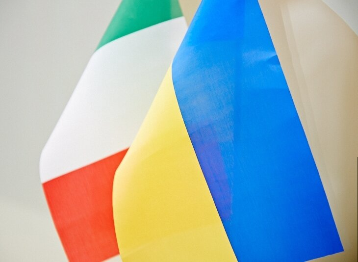 Италия Украина