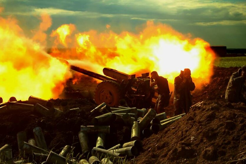Артиллерия Фото Бочкалы