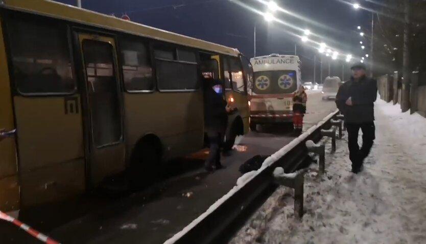 ДТП, маршрутка, Киев