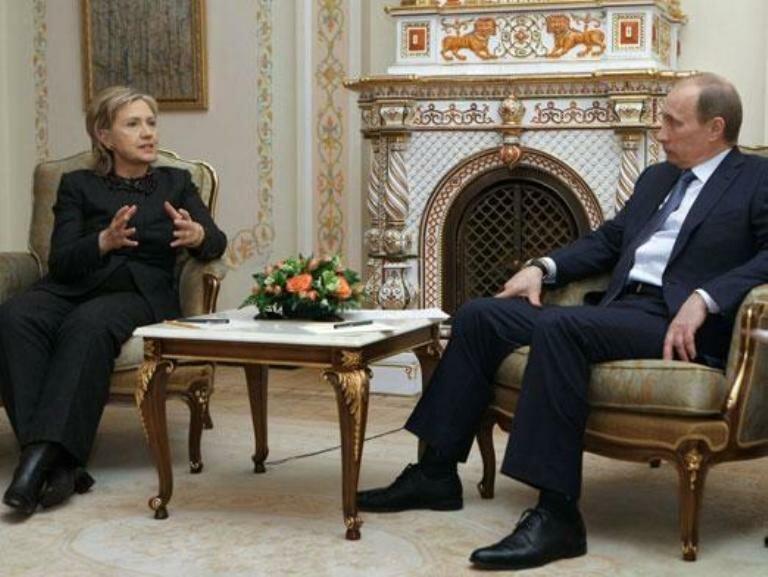 Путин_Хиллари Клинтон