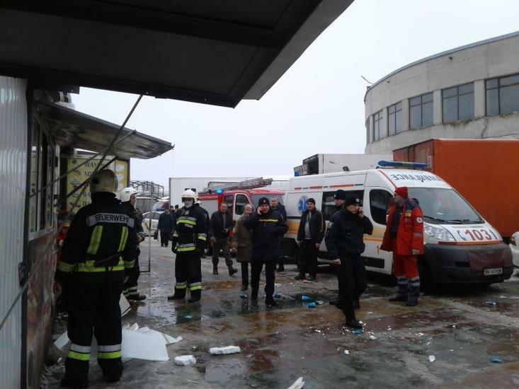 взрыв в Ровно