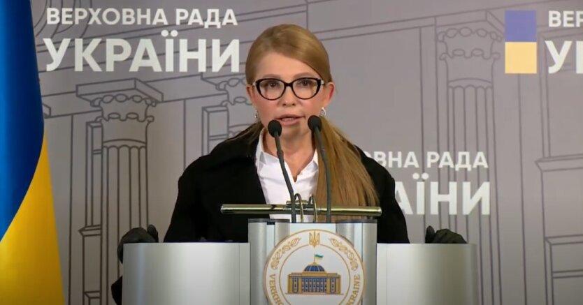 Юлия Тимошенко, Татьяна Черновол, арест