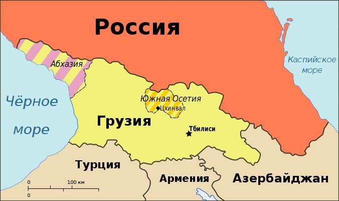Грузия после оккупации Южной Осетии и Абхазии