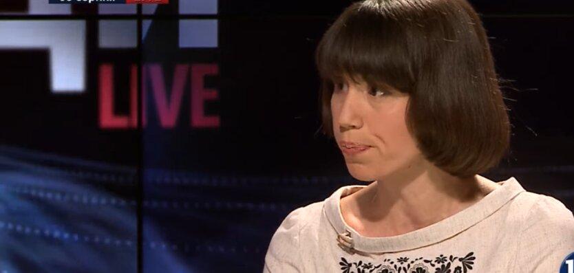Экс-депутат Верховной Рады Татьяна Черновол