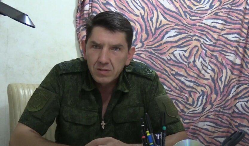 На Донбассе подорвался соратник Безлера «комбат Длинный»