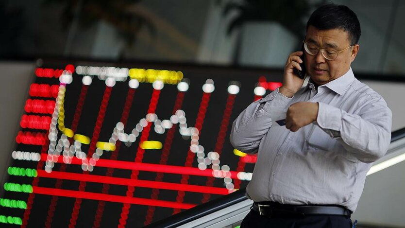 Китай биржа