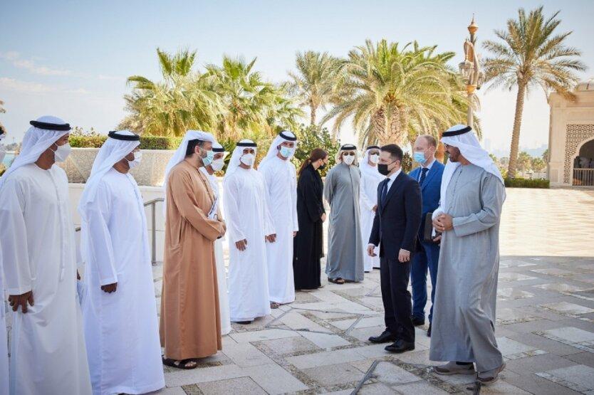 Официальный визит Владимира Зеленского в Объединенные Арабские Эмираты