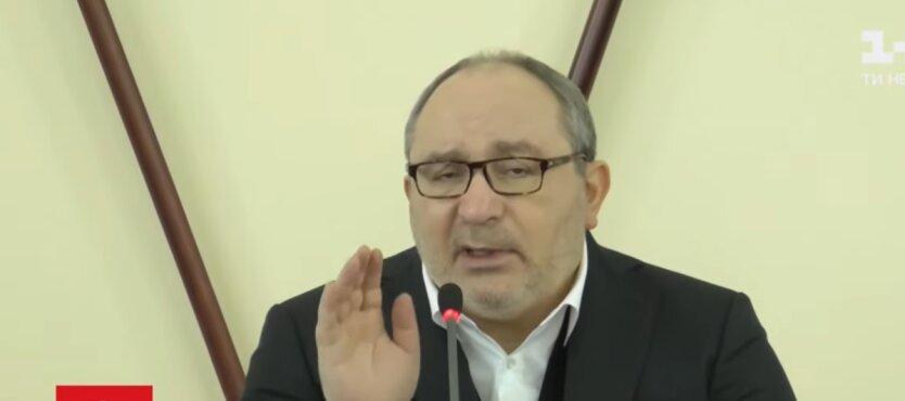 Геннадий Кернес, мэр Харькова, присяга