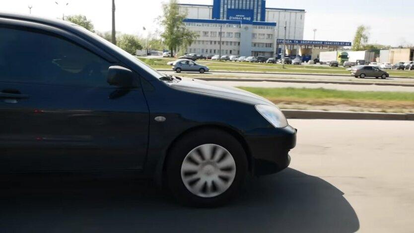 авто в украине, ближний свет фар, езда за городом