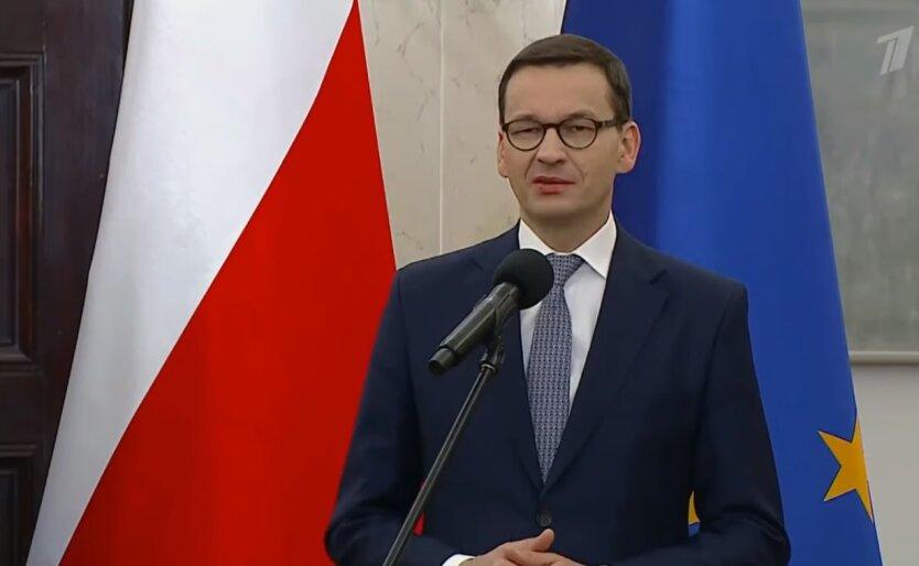 Матеуш Моравецкий, саммит ЕС, протесты в Беларуси