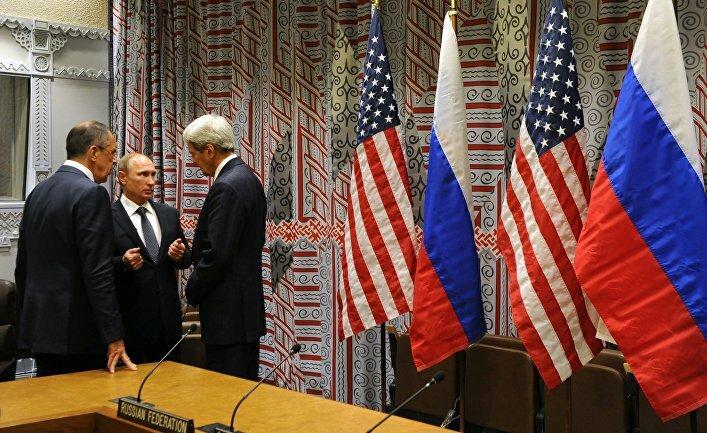 США РФ ИГИЛ Путин Керри Лавров