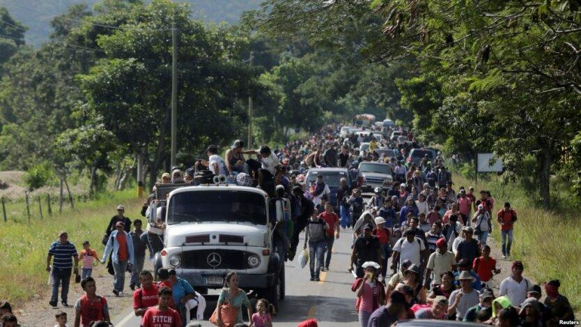 караван мексика мигранты