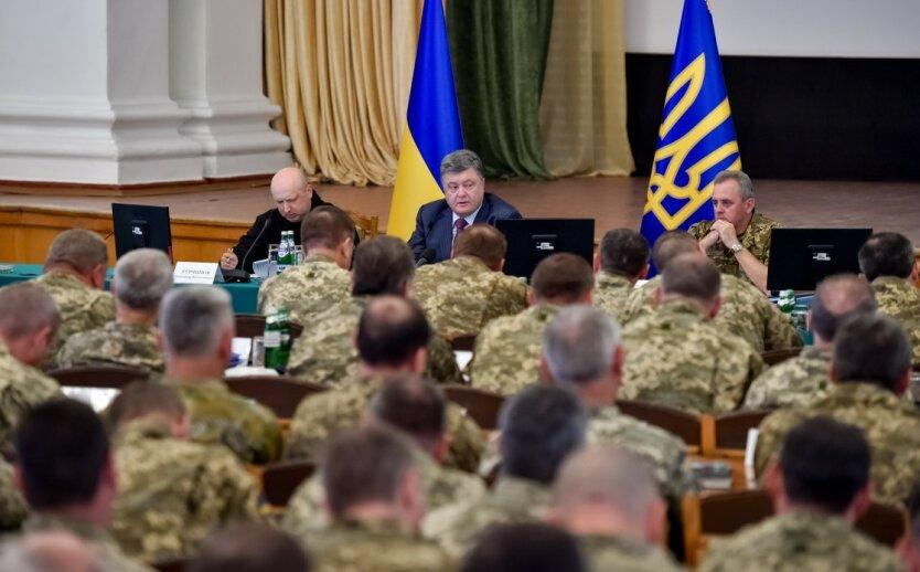 порошенко военные