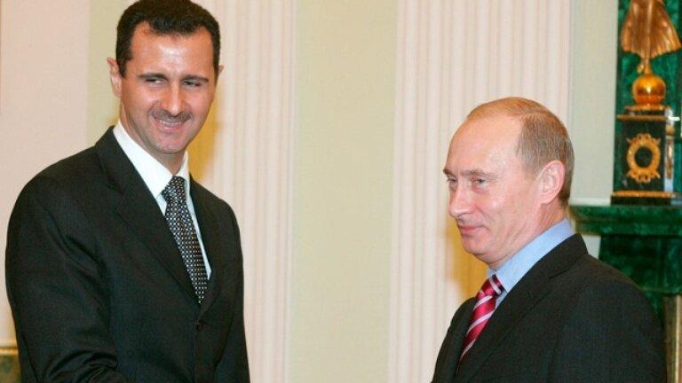 Асад_Путин