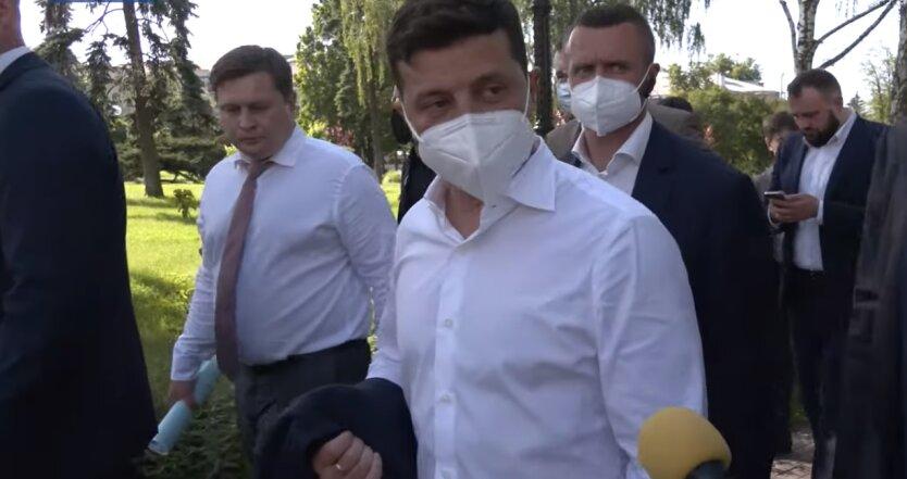 Владимир Зеленский, Черниговская область, видеоотчет