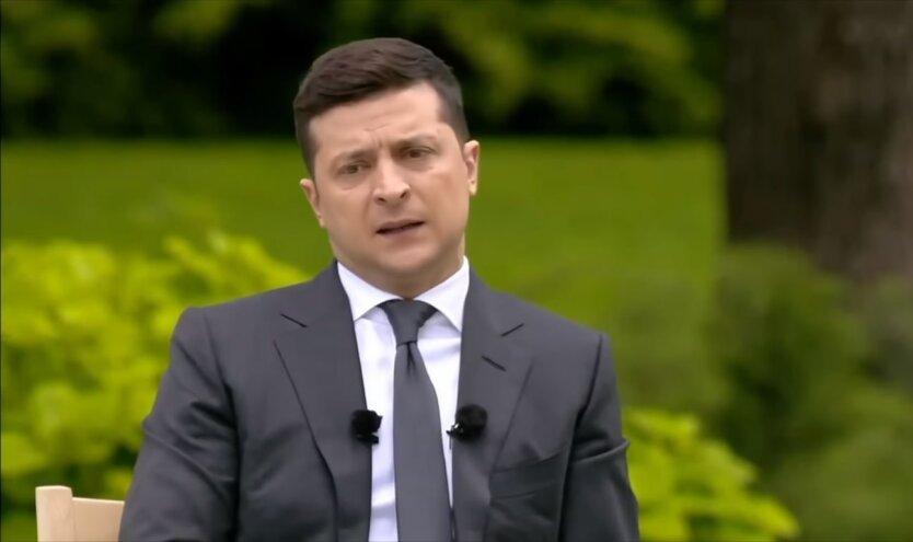Президент Владимир Зеленский