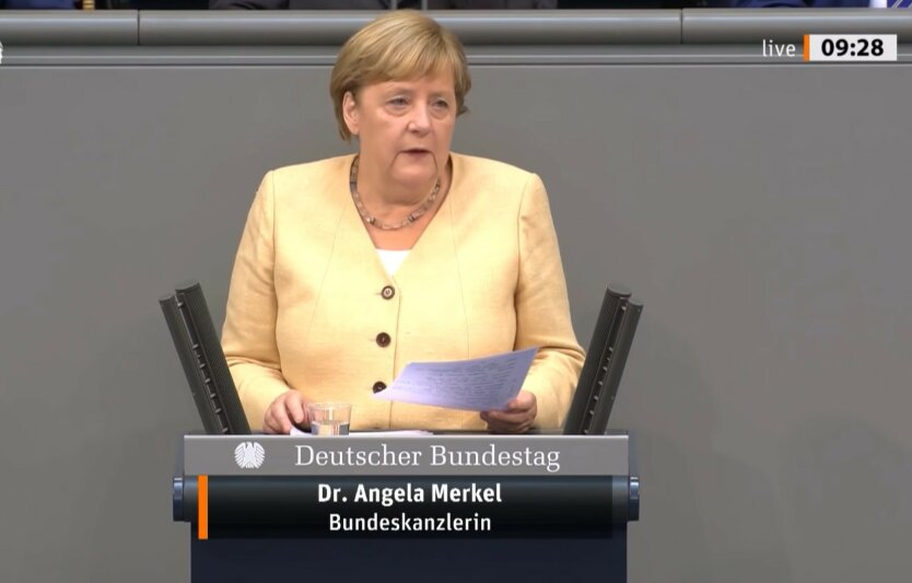 Ангела Меркель, нормандская четверка, онлайн-режим