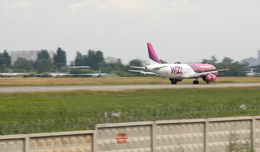 Wizz Air, база в Киеве, увольнение сотрудников