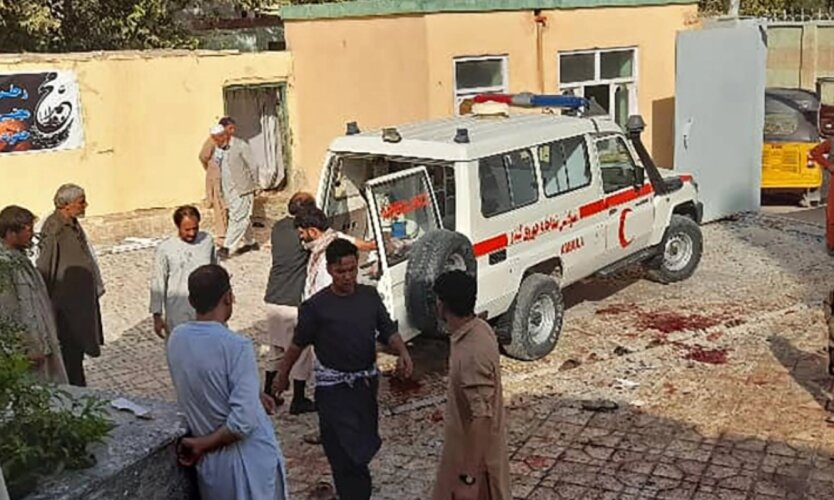 Взрыв в Афганистане
