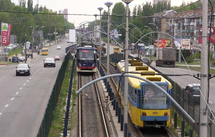 Скоростной трамвай в Киеве, Ремонт дорог в Киеве, Ремонт на Индустриальной в Киеве