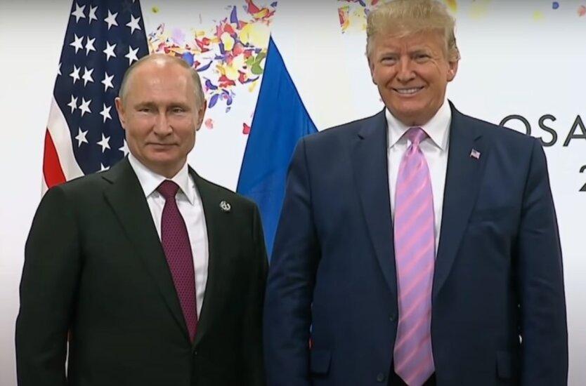 """Дональд Трамп и Владимир Путин,Саммит """"Большой семерки"""",Саммит G7"""