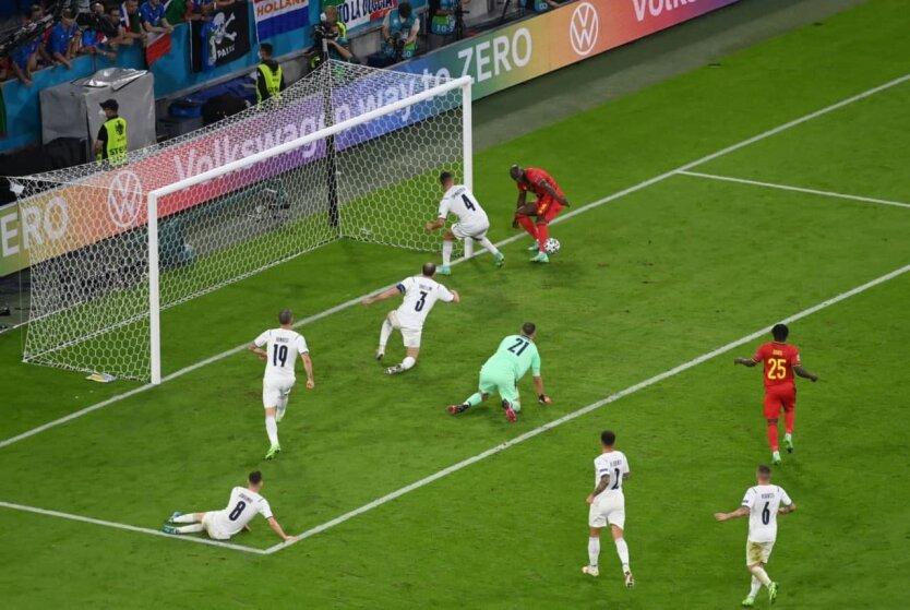 Италия и Бельгия определили второго полуфиналиста Евро-2020