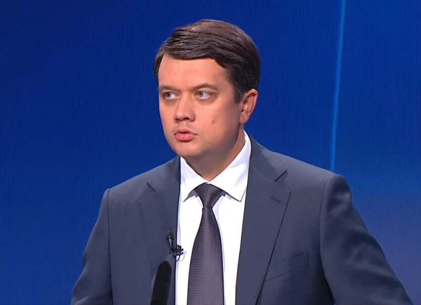 Спикер Верховной Рады Украины Дмитрий Разумков