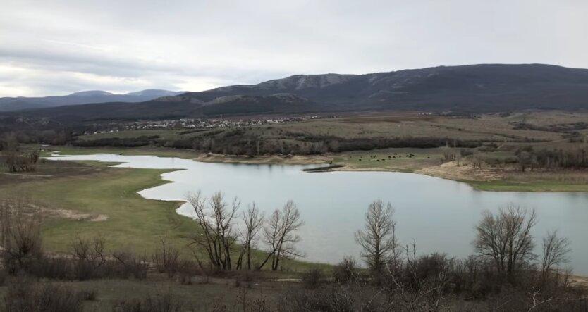 Крым, оккупанты, Белогорское водохранилище