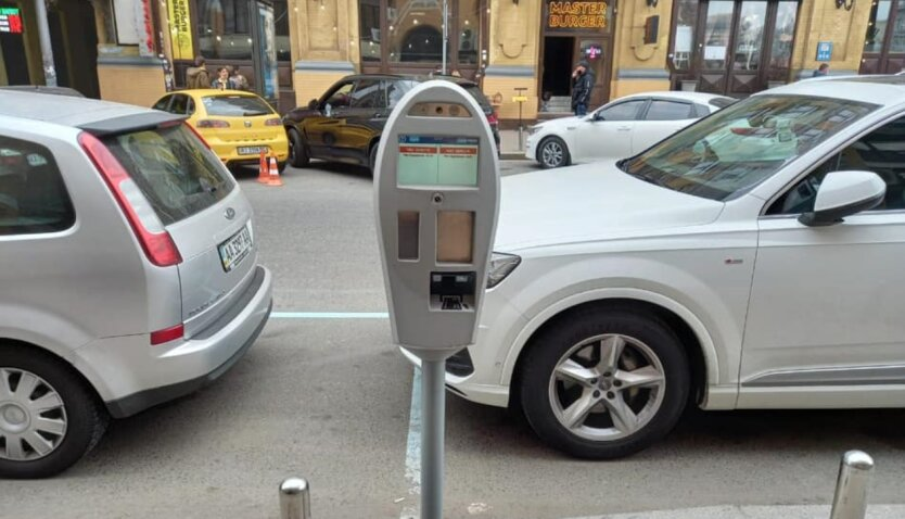 Система автофотофиксации нарушений правил парковки, стоянки и остановки, Киев
