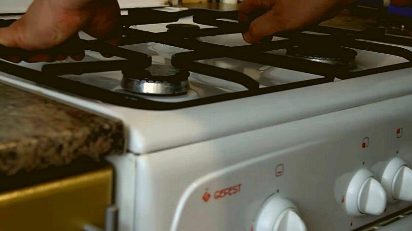 Газовая печь на кухне, настройка