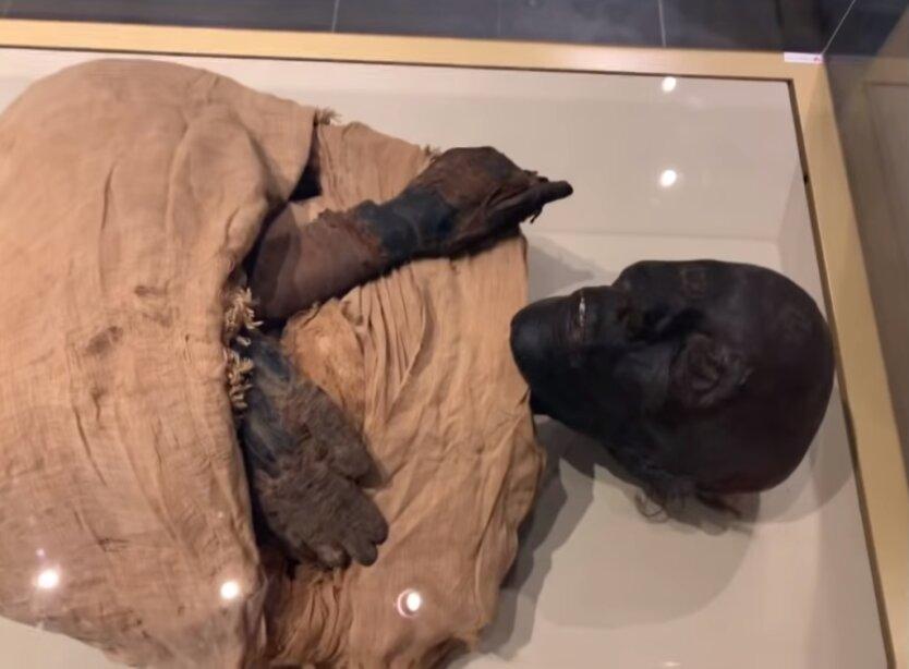 голос древней мумии
