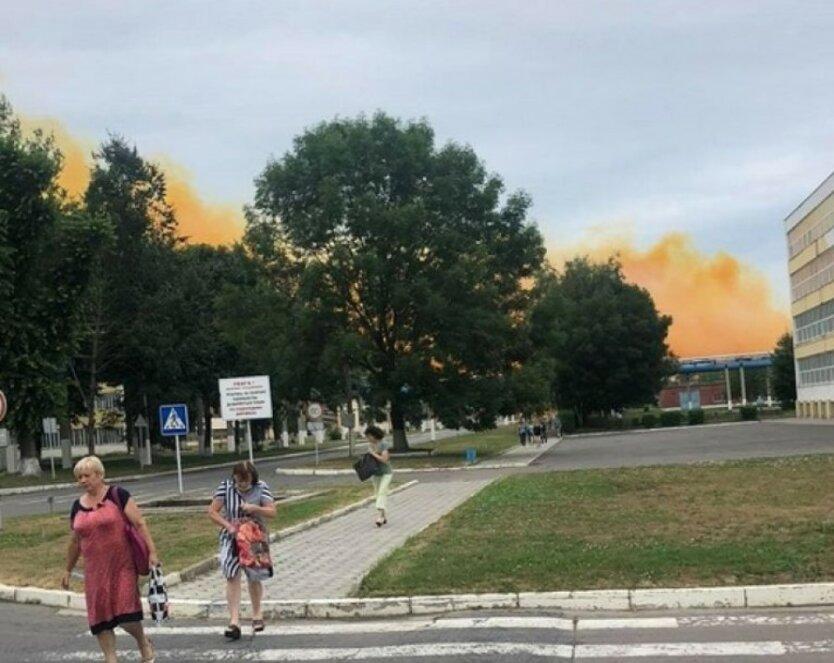 На азотном заводе под Ровно прогремел взрыв: видео