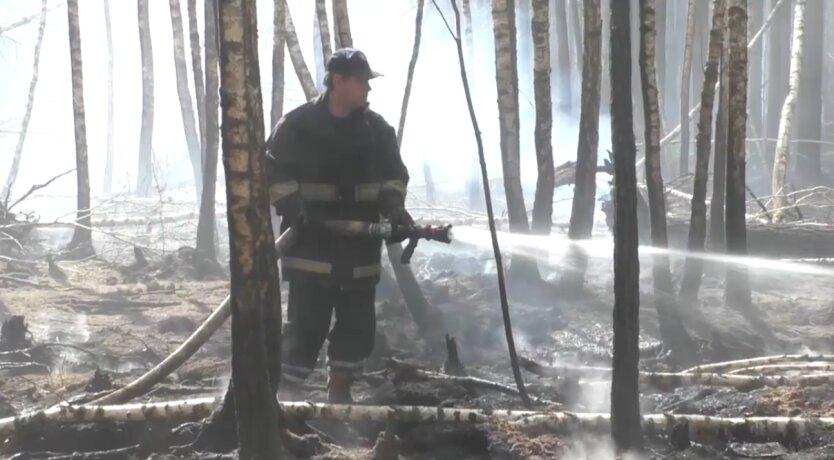 Пожары в Украине