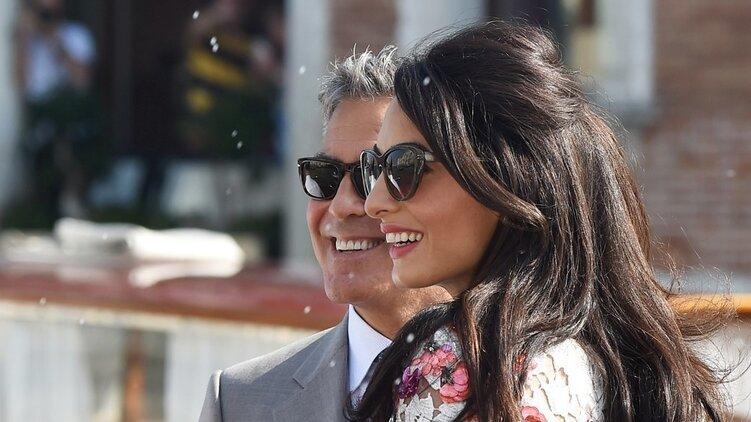 Клуни и Аламуддин