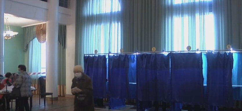 Местные выборы, Украина, избирательные участки
