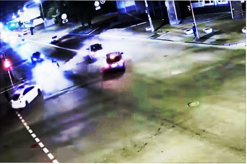Преступник из Киева,Мотоциклист в Киеве,Погоня полиции в Киеве