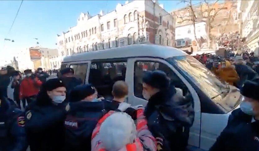 Протесты в России, Протесты во Владивостоке, навальный путин
