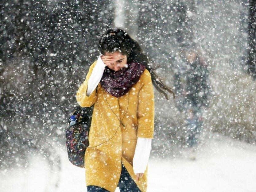 Погода в Украине, ГСЧС, ухудшение погоды
