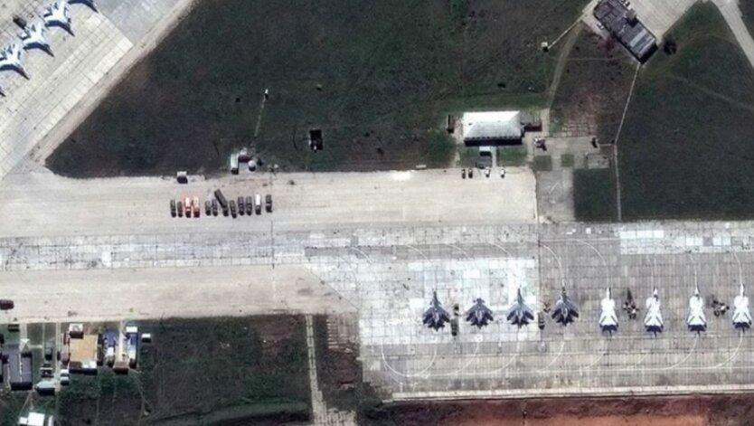 Российские самолеты, Крым