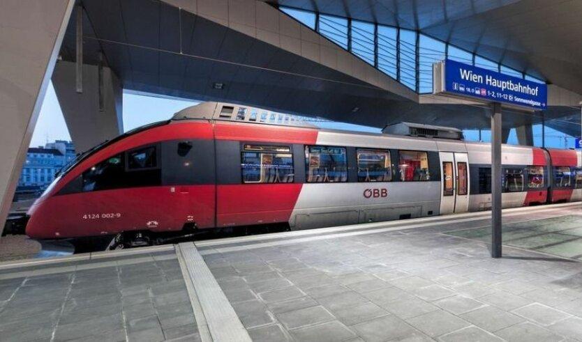 поезд_Австрия