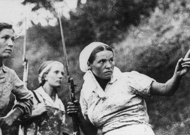 Вторая мировая война женщины СССР