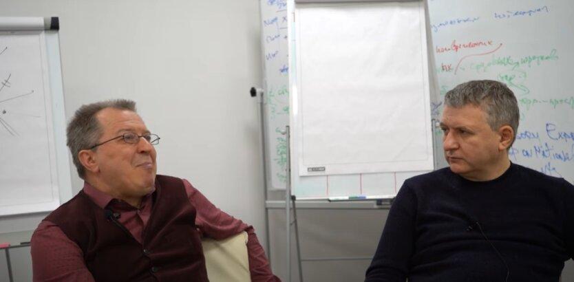 Сергей Дацюк и Юрий Романенко