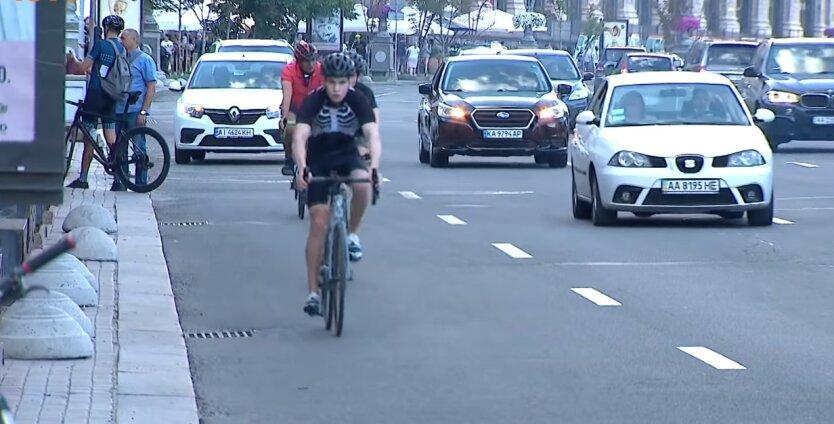 Новые знаки для безопасности велосипедистов,изменения в ПДД Украины